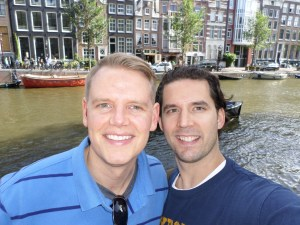 Scott & Jeff - Amsterdam 1