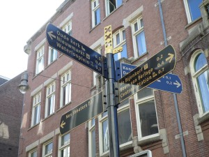 Dam Square Street Sign