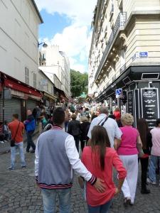 Sacre Coeur Crowd