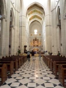 Catedral Almudena Interior