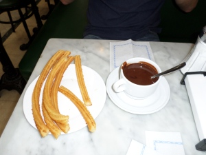 Chocolate and Churros