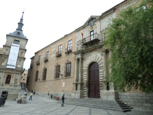 Catedral de Toledo Square
