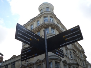 Oxford Directional Sign