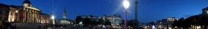 Trafalgar Square Panorama